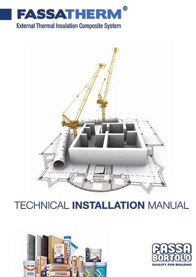 FASSATHERM - Technical installation manual - Fassa Bortolo