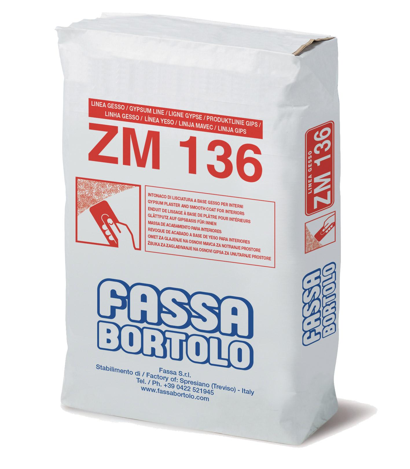 zm 136 - intonaco e lisciatura a base di gesso per interni - fassa